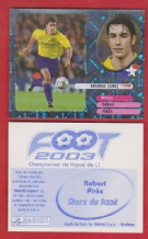Arsenal Robert Pires France